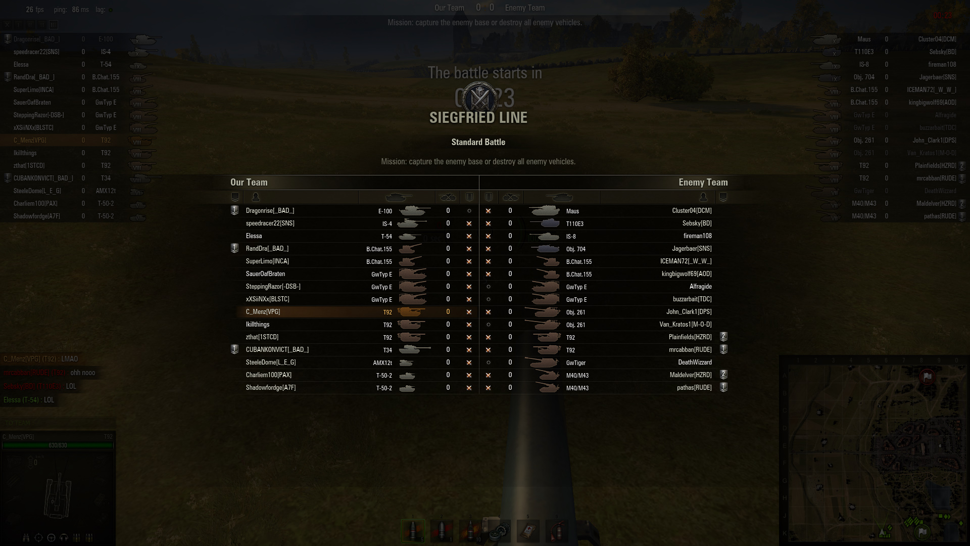 wot same tier matchmaking 96 rows this values must not be the same the matchmaker resolves battle tier on.