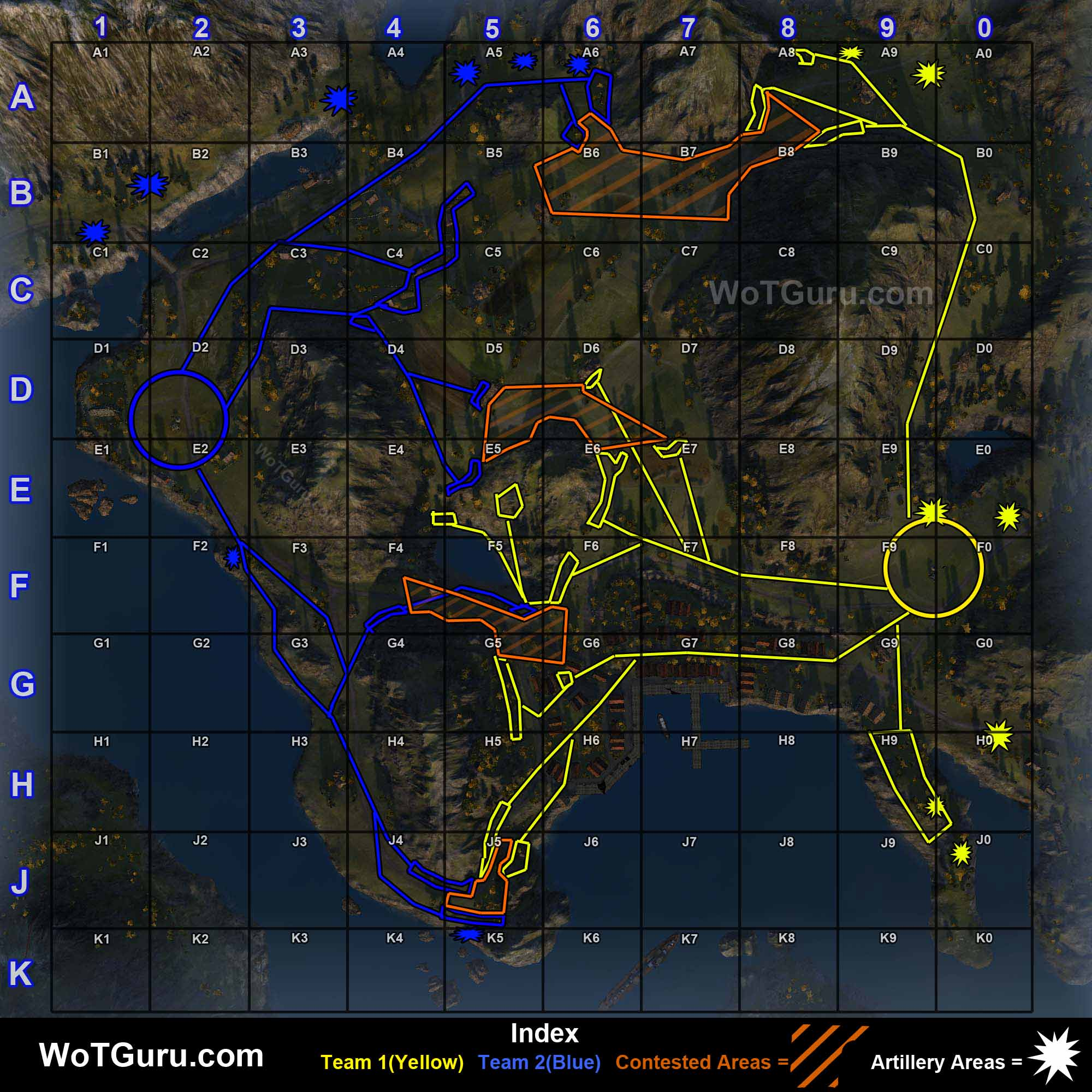 Map strategy world of tanks fjords gumiabroncs Choice Image