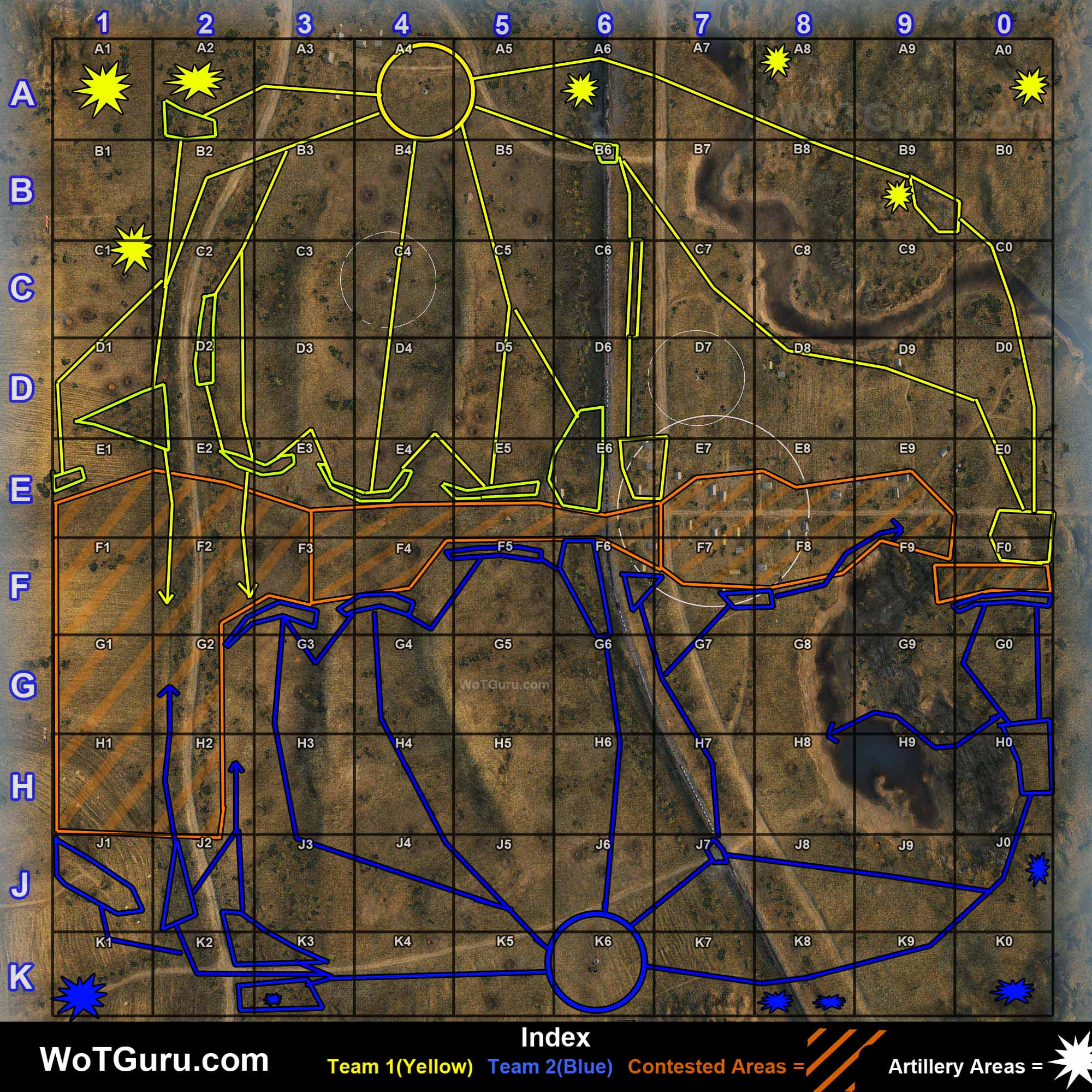 Map strategy world of tanks fiery salient gumiabroncs Images