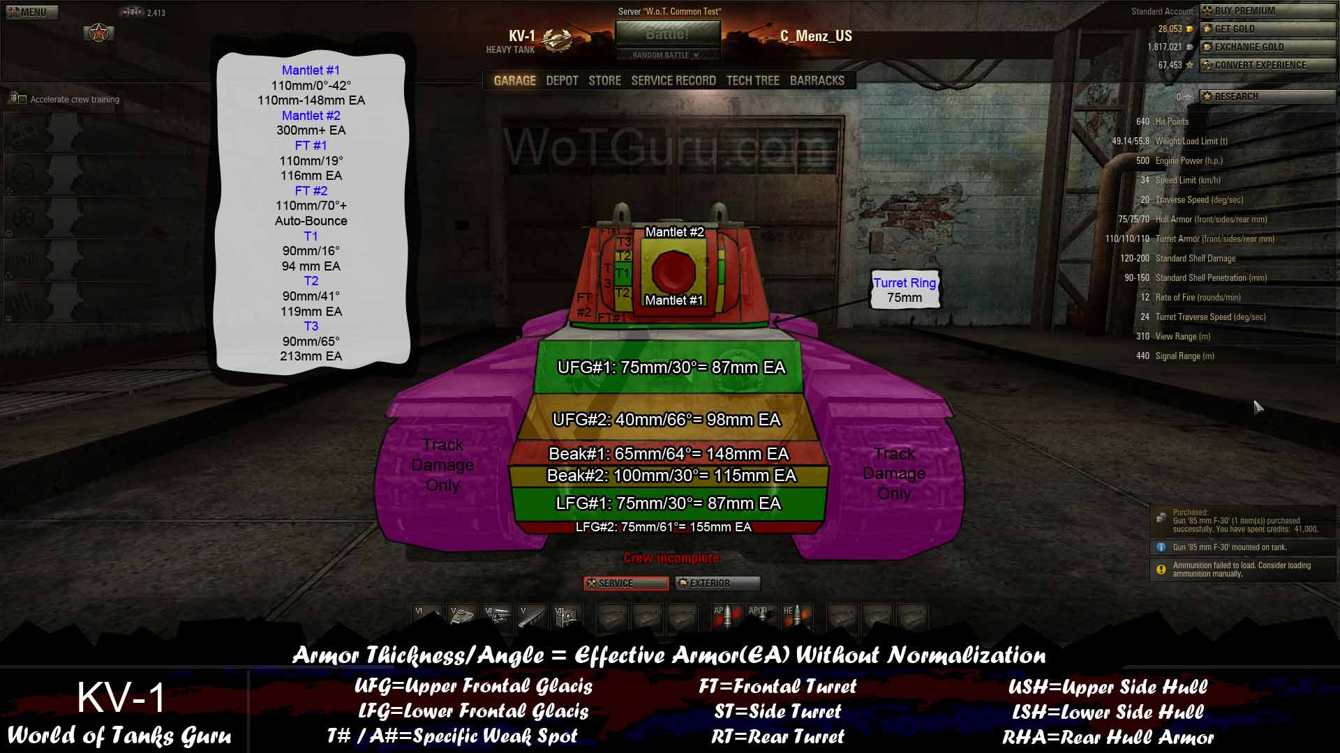 World of tanks modules matchmaking
