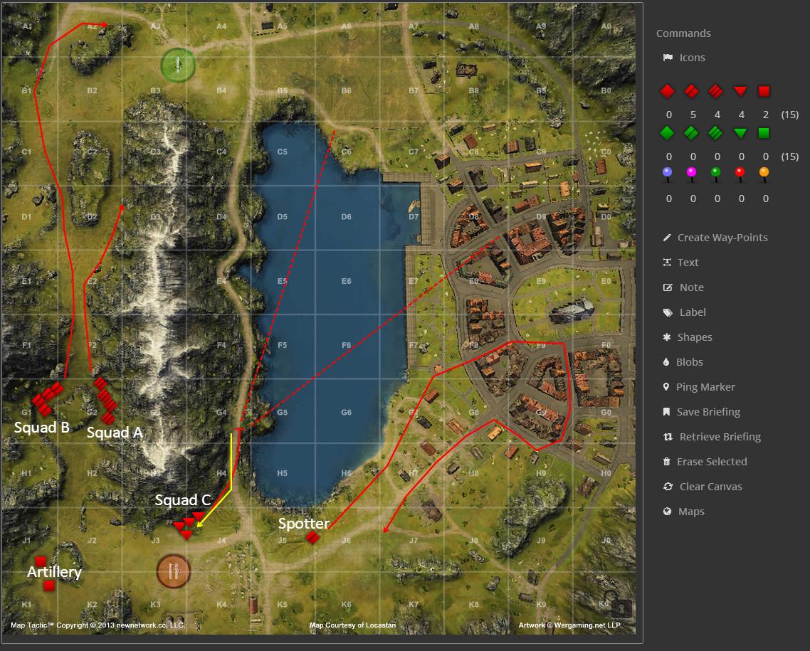 Clan War Map Strategy Lakeville WoT Guru