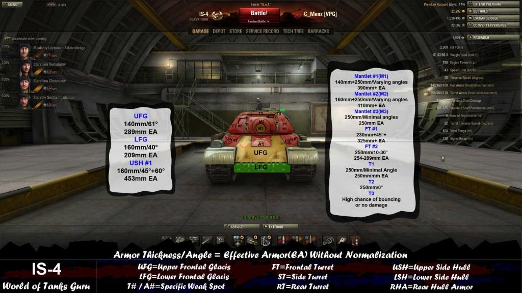 Weak Spot Guide E100  Heavy Tanks  World of Tanks
