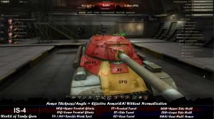 World of Tanks IS-4 Weak Spots Frontal 1