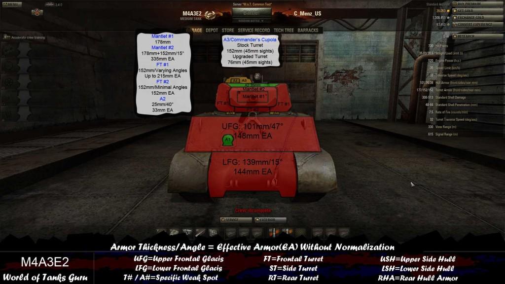 M4A3E2_Frontal