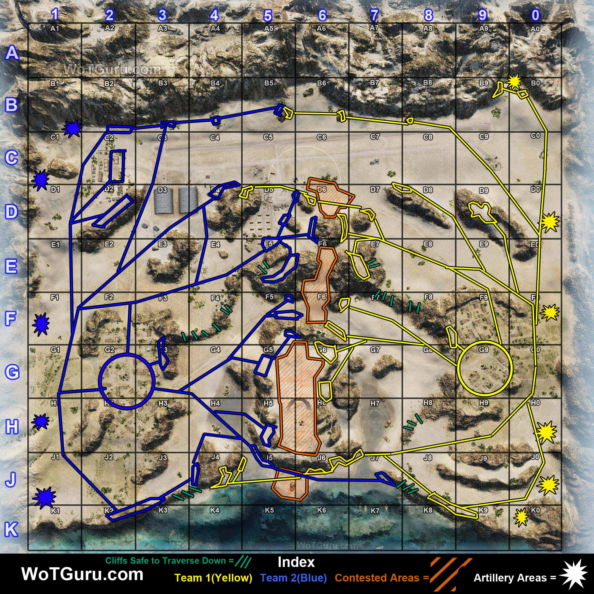 Map strategy airfield wot guru world of tanks airfield strategy sciox Gallery