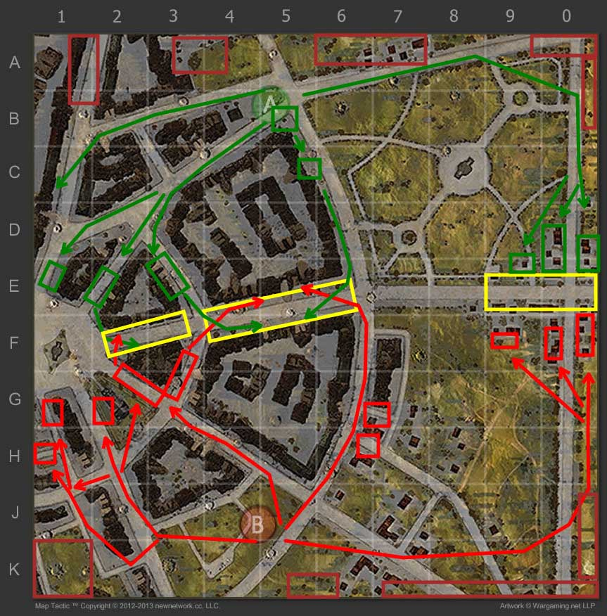 Map strategy ruinberg world of tanks ruinberg strategy sciox Image collections