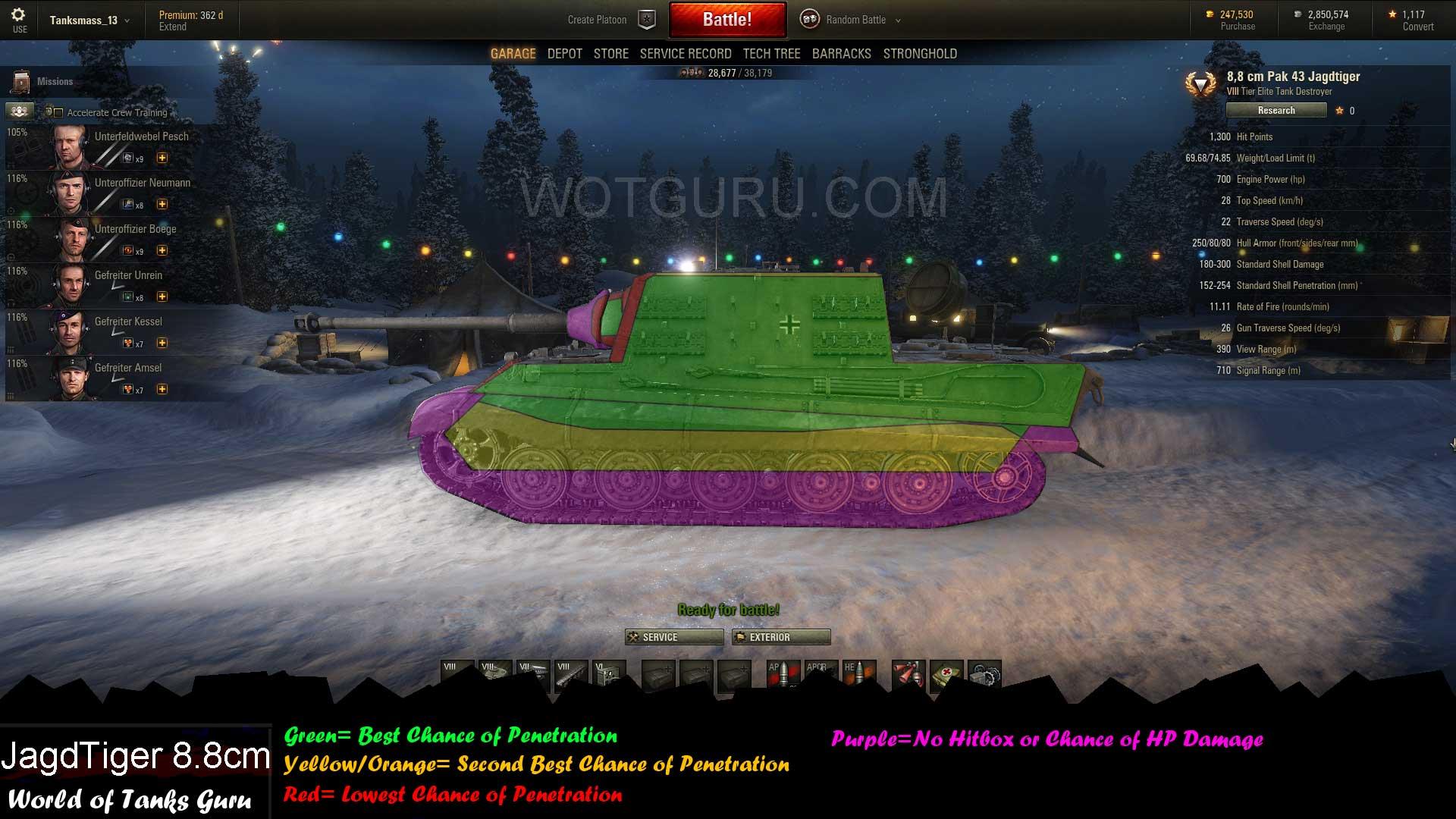 WOT Jagdtiger 8,8 Matchmaking Norvège datant gratuitement