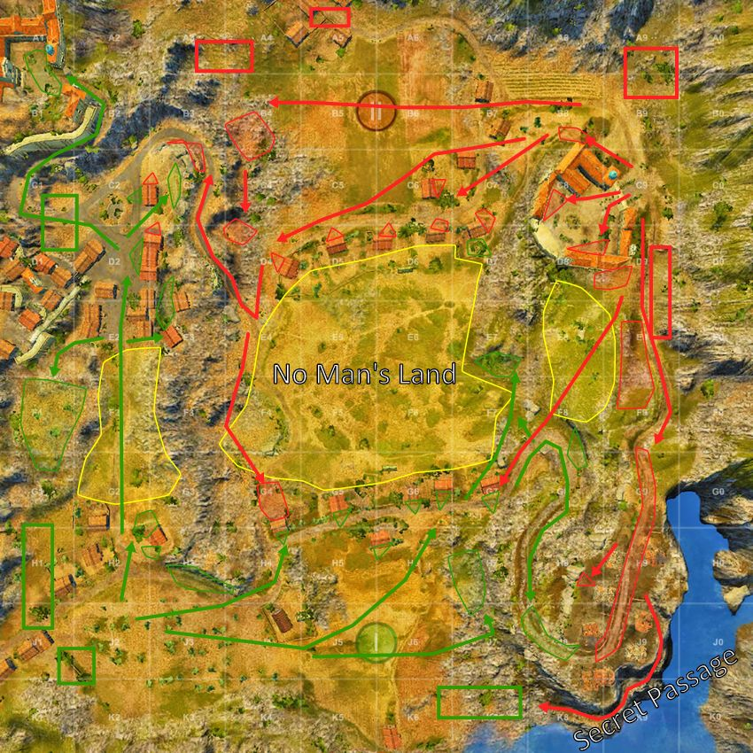 Map Strategy World Of Tanks