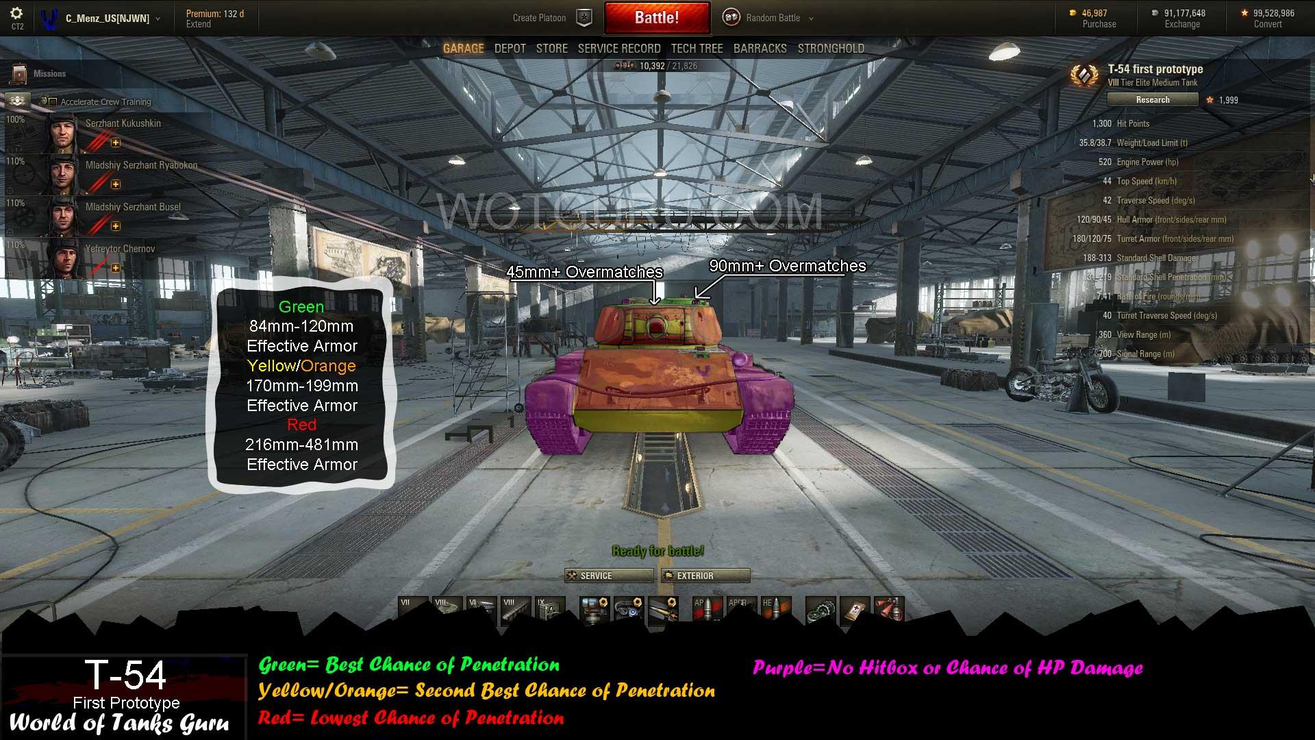 world of tanks matchmaking mod