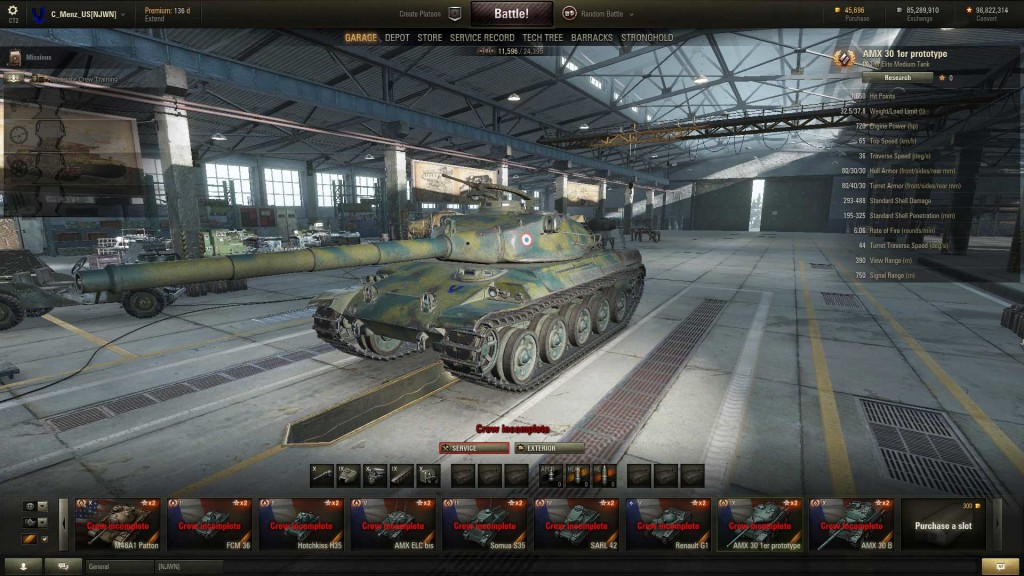 Update97_AMX30Prototype