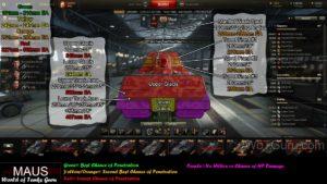 World of Tanks Maus Weak Spots Frontal