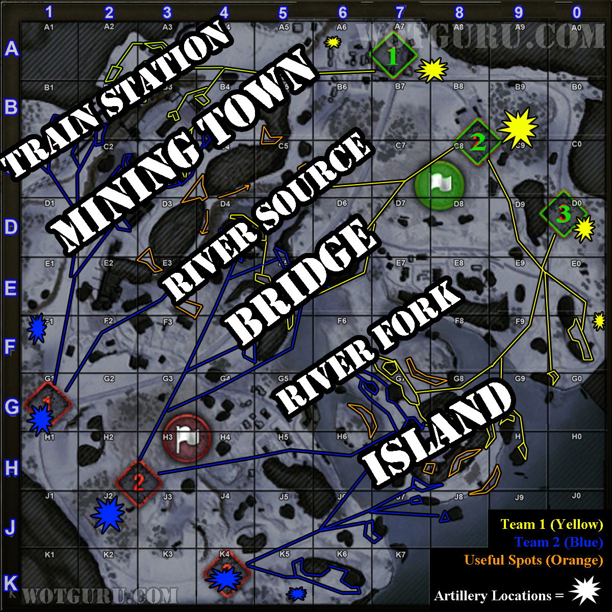 Map strategy klondike wot guru world of tanks klondike strategy key locations gumiabroncs Choice Image